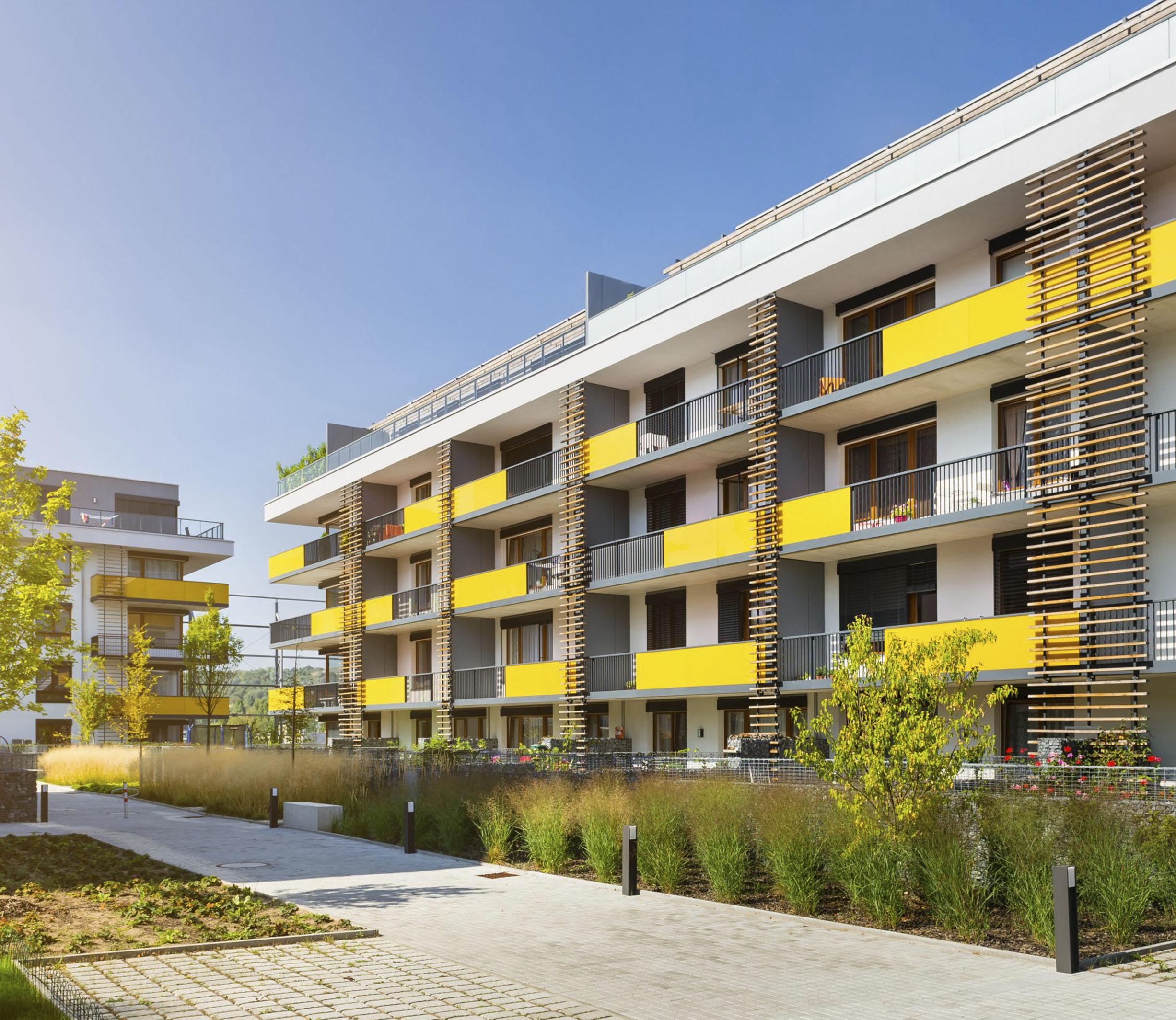 High-rise apartment